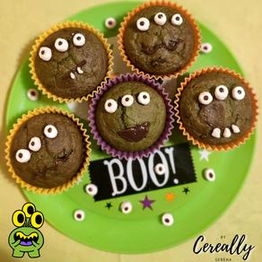 3-eyed Monster muffins
