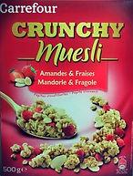 CRUNCHY MUESLI Amandes & Fraises