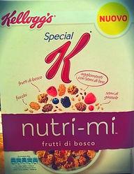 SPECIAL K NUTRI-MI Frutti Di Bosco