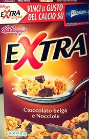 EXTRA Cioccolato Belga e Nocciole