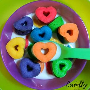 Sugar cookie heart cereal