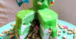 20s ARE OVER mini birthday cake