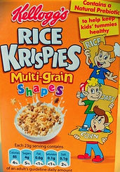 RICE KRISPIES Multi-grain Shapes