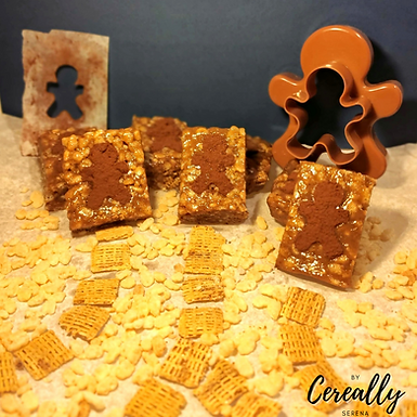 Gingerbread cereal treats