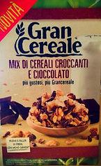 GRAN CEREALE Mix di cereali croccanti e cioccolato