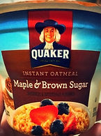 INSTANT OATMEAL Maple & Brown Sugar