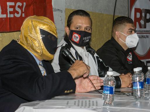 """""""Tinieblas"""" y RSP emocionan en la alcaldía Venustiano Carranza"""