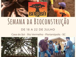 Confira a programação da Semana da Bioconstrução