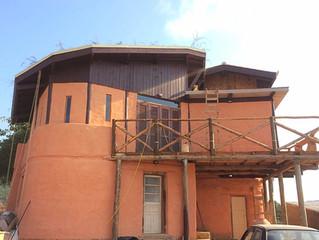 Casa de Bioconstrução no Rio Vermelho