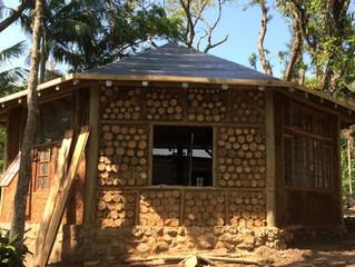 Cordwood: reiventando a construção