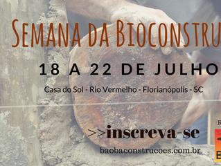 Saiba como participar da Semana da Bioconstrução