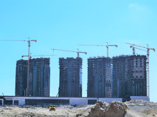 IDP liefert mehr als 35 Potain-Krane an Großbaustelle in Ägypten