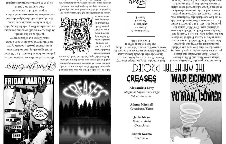 Creases magazine