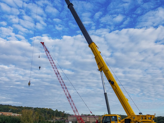 Yonkers Contracting Company boosts job site efficiency with Grove GRT880 on New York road project