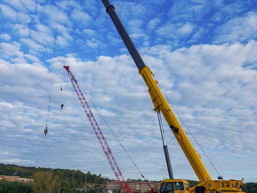 Yonkers Contracting Company verbessert Effizienz am Einsatzort dank des Grove GRT880