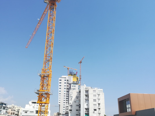 Trio of Potain tower cranes supports Trilogy Limassol Seafront project