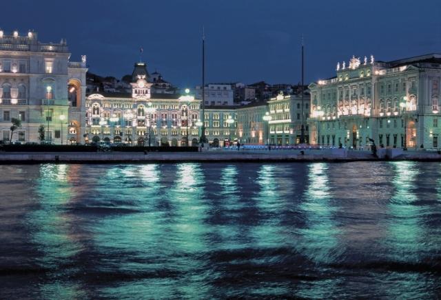 Trieste by night