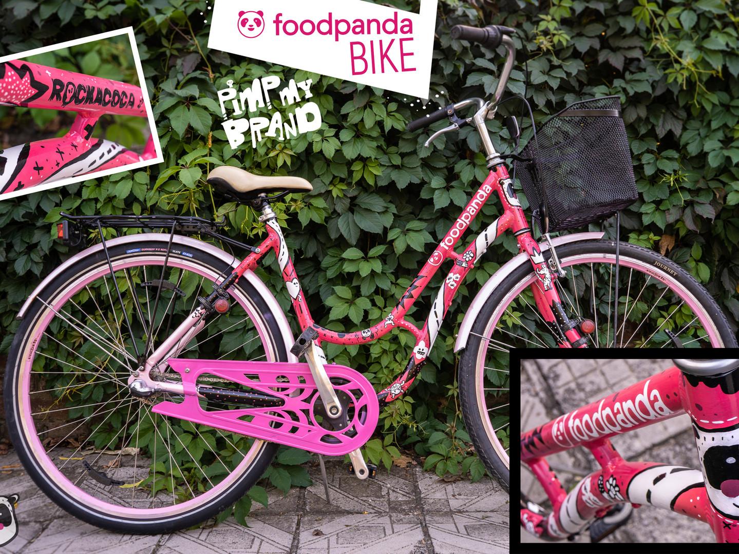 Food Panda bicycle