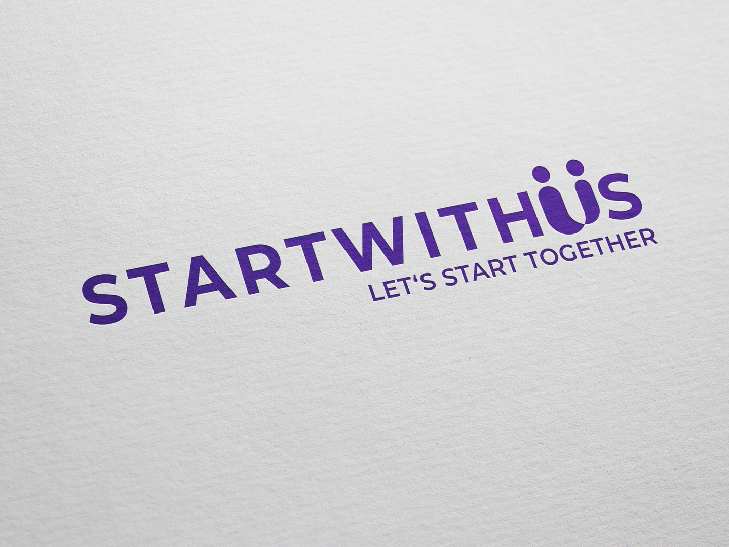 Start With Us company - brand identity