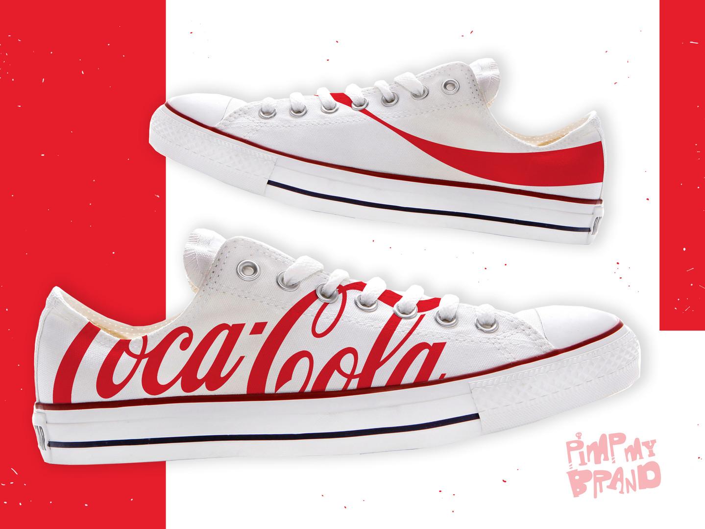 Coca-Cola printed kicks