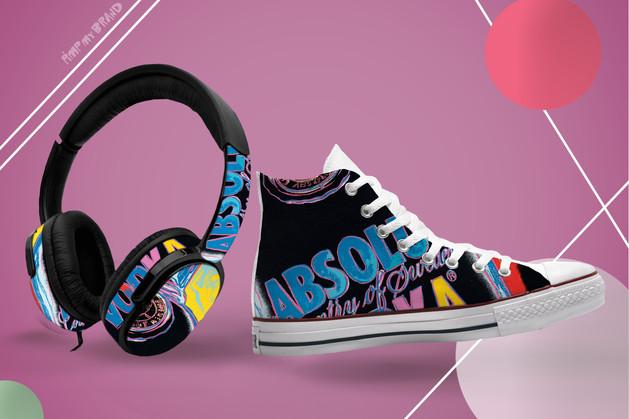 Absolut Sneakers & Headphones