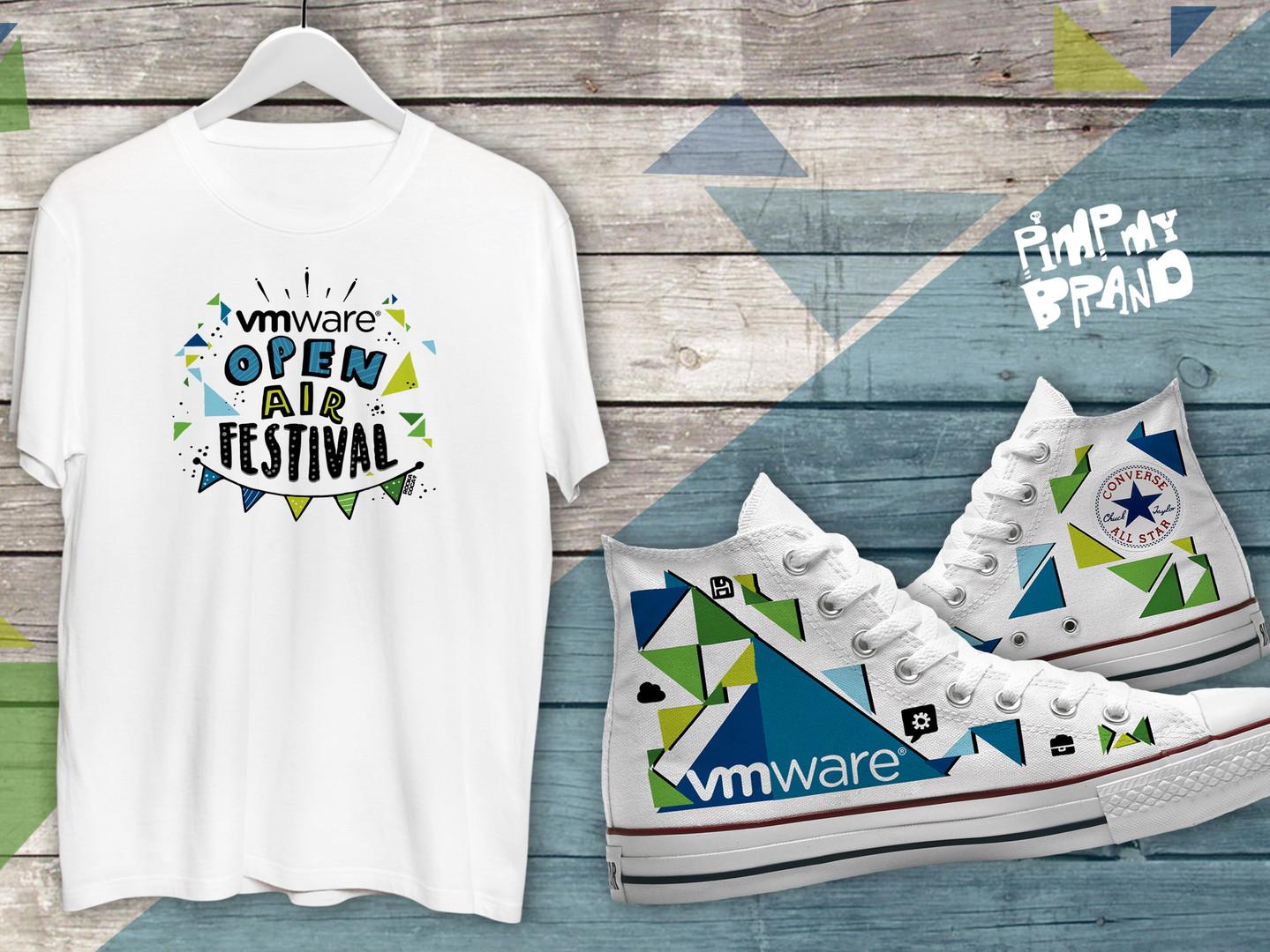 VM Ware Kicks and T-Shirt