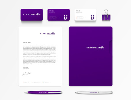 Start With Us print materials