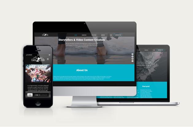 Chase a Cloud Website Design