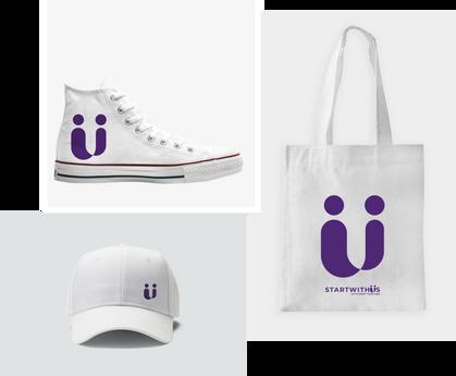 Start With Us branding
