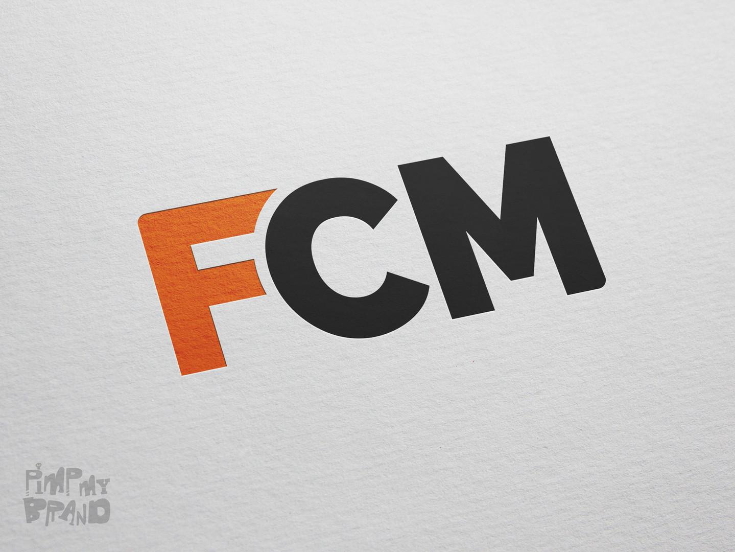 FCM automation company - brand identity