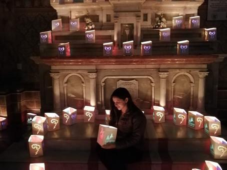 El Festival de las Luces en honor a la Morenica del Rosario