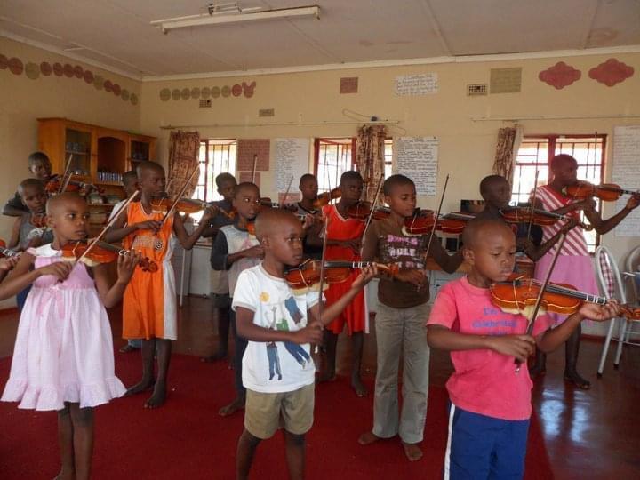Ivordale Orphanage Violinists