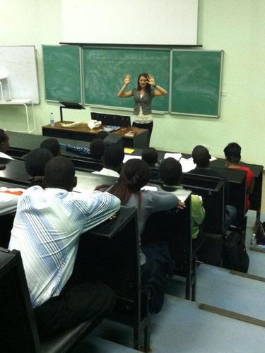 Educating University of Zimbabwe Medical students