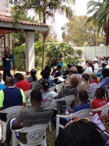 Health Talk held at the Zimbabwe Clinic