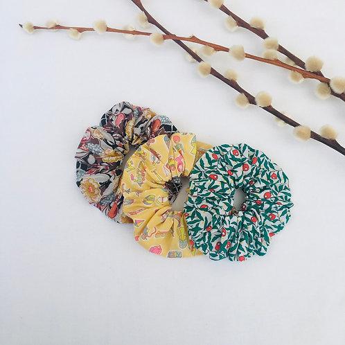 Liberty Scrunchies Set of 3