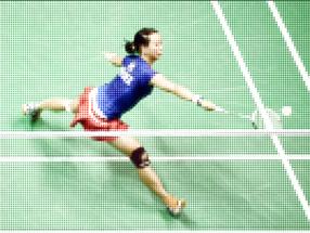 Le Badminton est arrivé sur sa page