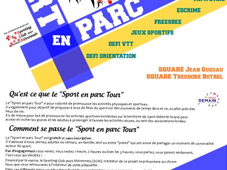 Sport en Parc - Edition 2019