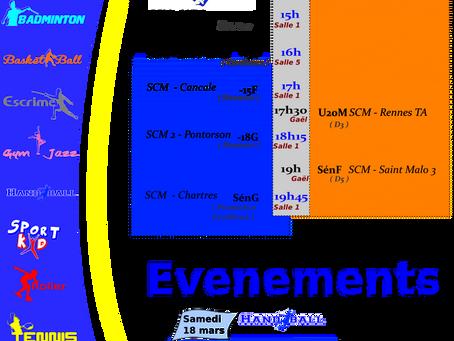 Agenda du 11 mars 2017