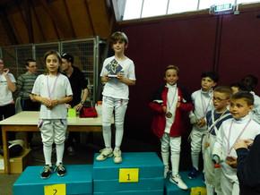 Championnats de Bretagne épée à Saint Méen