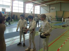 Championnats de Bretagne épée à Loudéac