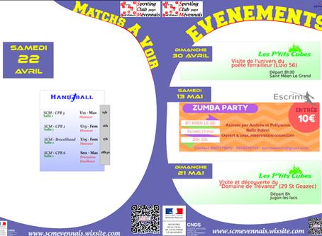 Agenda du 22 avril