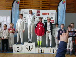Des médaillés de bronze à Vitré