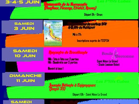 Evènements SCM Juin 2017