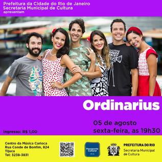 Ordinarius a 1 real na Tijuca