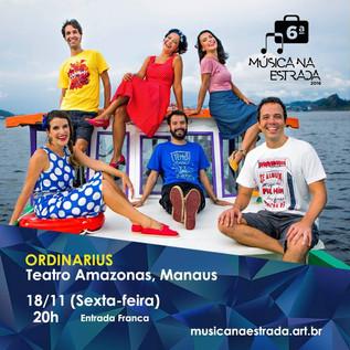 Ordinarius no Teatro Amazonas