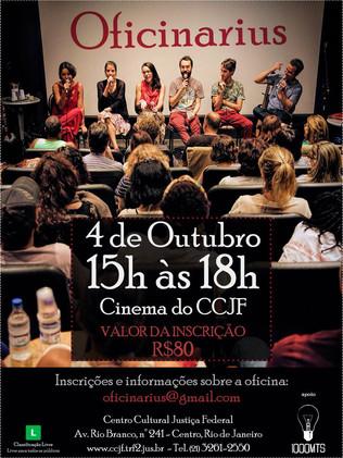 Oficina + Show no CCJF