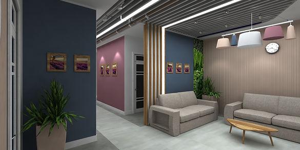 Дизайн интерьера офиса Стоматологии