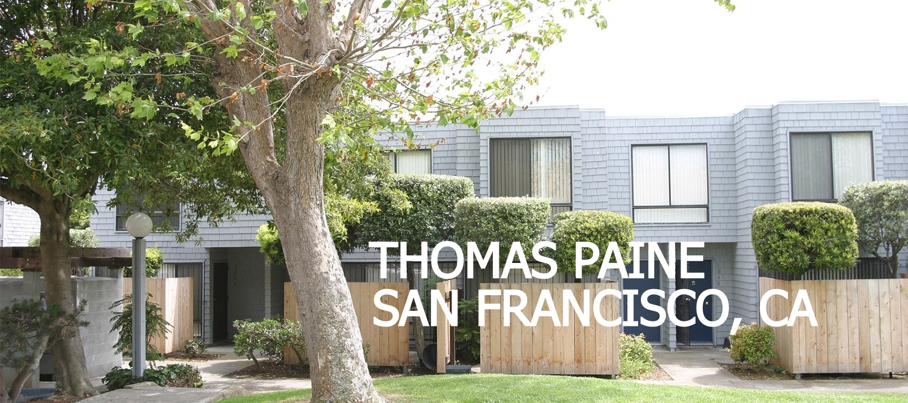 THOMAS PAINE • SAN FRANCISCO • CA