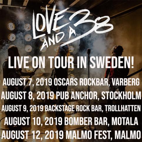 Swedish Tour August '19!!!