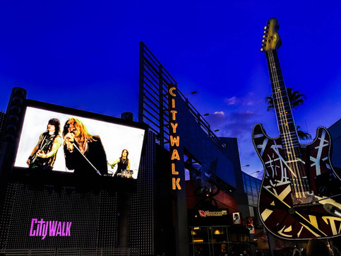 Video for Oh My God in rotation at Universal Studios
